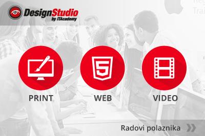 Pogledajte radove polaznika Dizajn studija