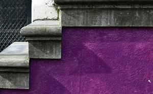 ljubicasti zid