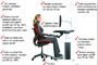 Pravilno sedenje za kompjuterom + VIDEO