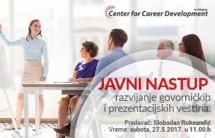 Besplatni seminari: Javni nastup – razvijanje govorničkih i prezentacijskih veština