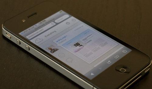 Čitanje web sadržaja na telefonu