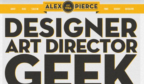 Velika tipografska rešenja na web sajtovima