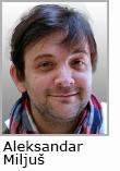 predavač Aleksandar Miljuš