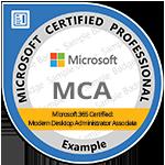 MCA: Modern Desktop Administrator Associate