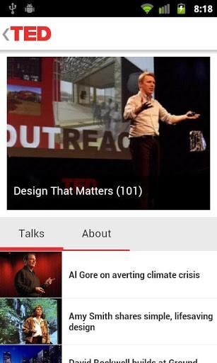 Ideje vredne širenja na TEDTalk