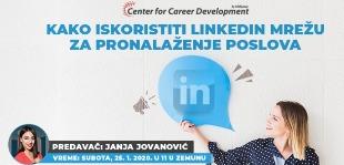 Informacije o vremenu i mestu održavanja seminara Kako iskoristiti potencijale Linkedin mreže