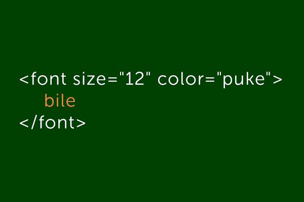 Osnovni stilovi u HTML codu