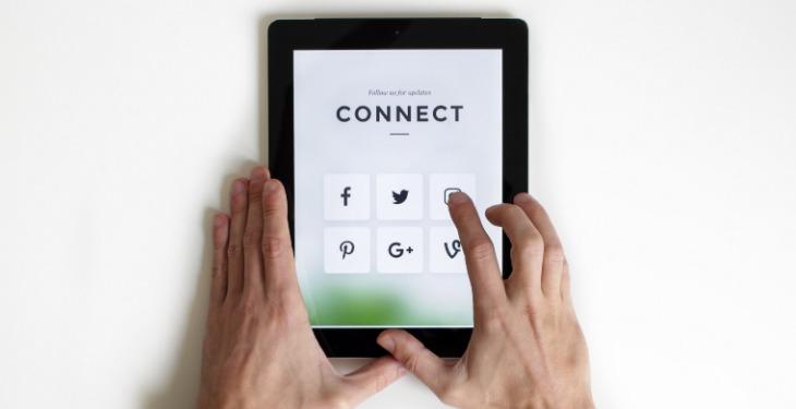 društvene mreže na tabletu
