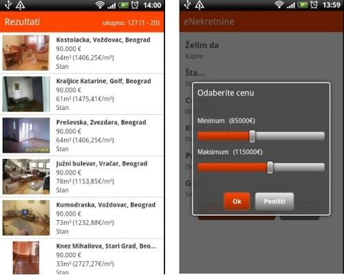 Funkcionalna aplikacija na Android Marketu