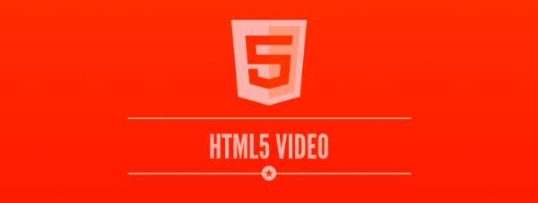 HTML5 i video