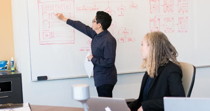 početnici programeri u kompaniji