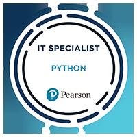 Information Technology Specialist - Certiport IT Specialist Python