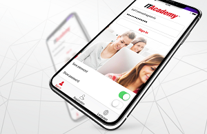 ITAcademy aplikacija za učenje na daljinu
