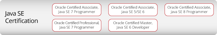 Java SE sertifikat