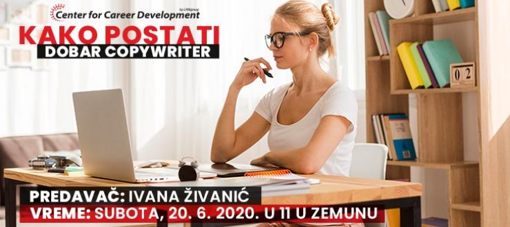 Besplatan seminar Kako postati dobar copywriter