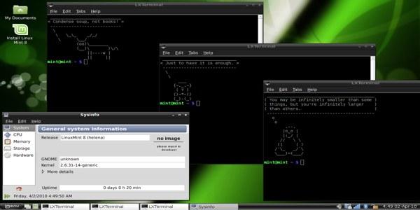 linux terminal i komande