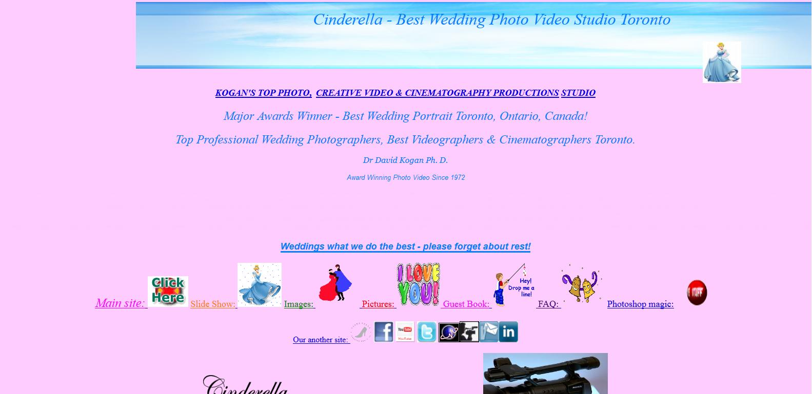 Loša organizacija sajta za venčanja