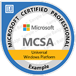 MCSA: Universal Windows Platform