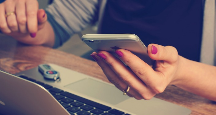 mobilni marketing smartfon