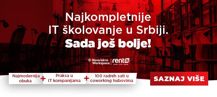 Najkompletnije IT školovanje u Srbiji. Sada još bolje!