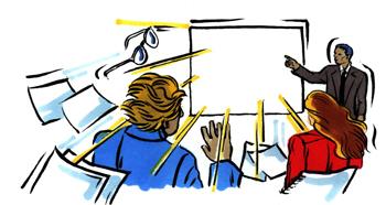 Jasna prezentacija pred klijentima
