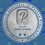 Python Institute sertifikacija Certified Associate in Python Programming