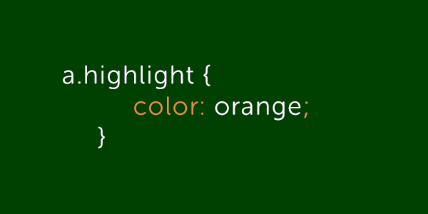 Selekcija sidra u HTML