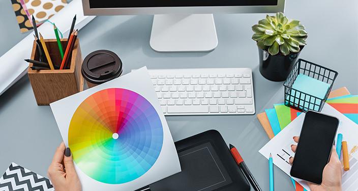 Trendovi u dizajnu - spektar boja