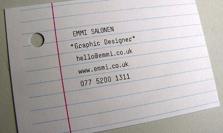 vizit karta grafickog dizajnera