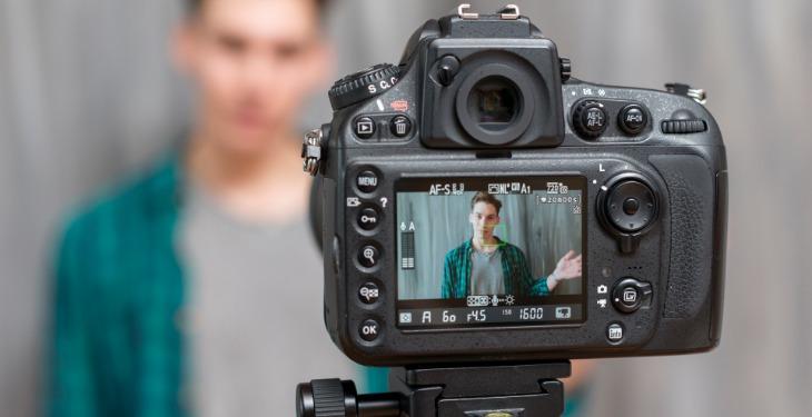 kamera snimanje priloga za internet