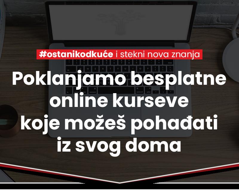 Besplatni online kursevi - hero